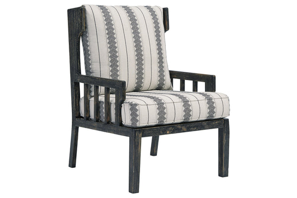 A3000209 Kelanie Onyx Accent Chair