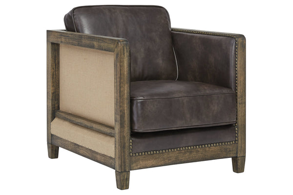 A3000226 Copeland Brown Accent Chair