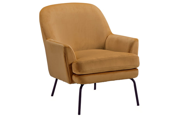 A3000237 Dericka Gold Accent Chair