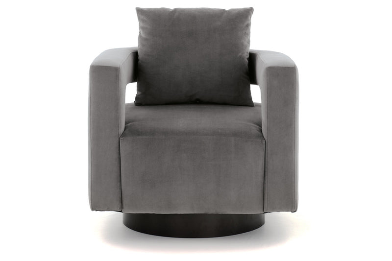 A3000256 Alcoma Otter Swivel Accent Chair