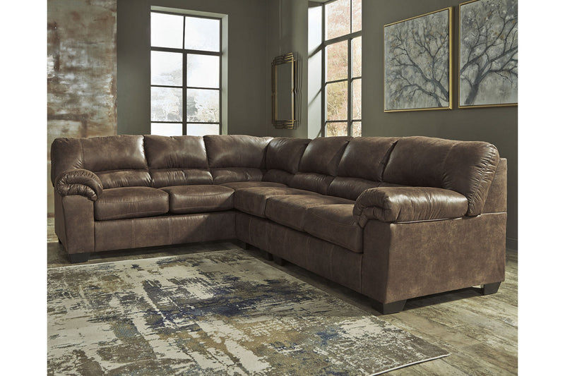 12000 Bladen Coffee 3-Piece LAF Sofa Sectional