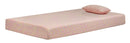 "iKidz 7"" Pink Memory Foam Firm Twin Mattress and Pillow - Luna Furniture"