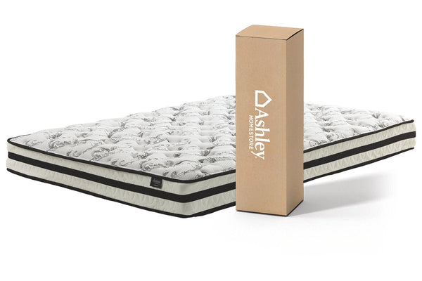 "Chime 8"" Innerspring Firm Queen Mattress - Luna Furniture"