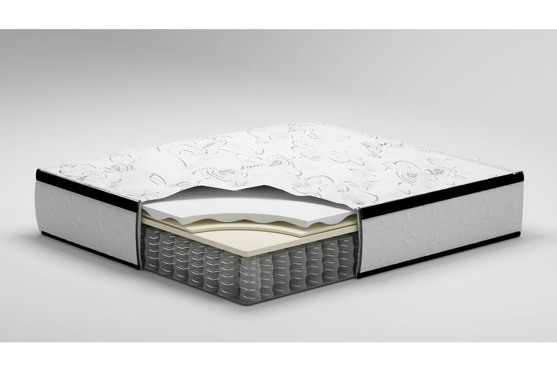 "Chime 12"" Hybrid Ultra Plush Queen Mattress - Luna Furniture"