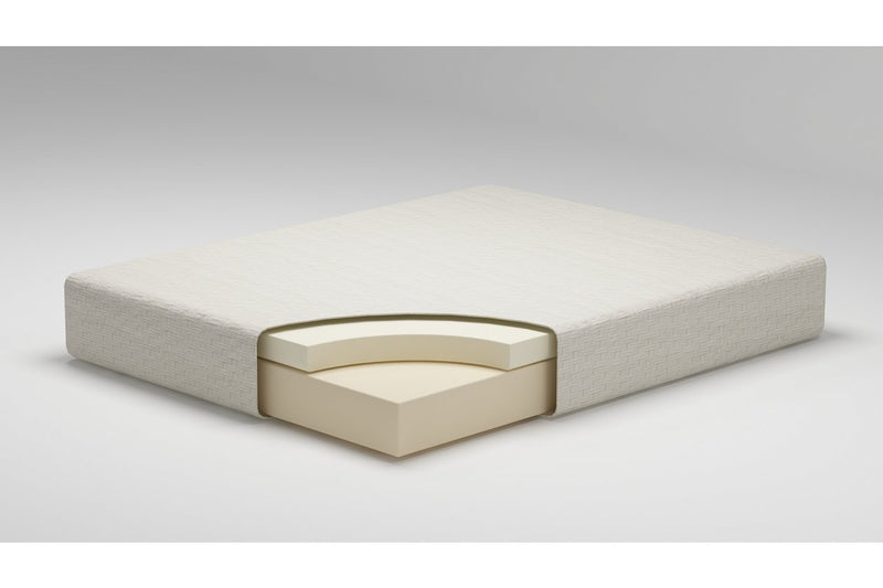 "Chime 8"" Memory Foam Medium Full Mattress - Luna Furniture"