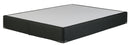 "Black King 8"" High Profile Split Box Spring - Luna Furniture"