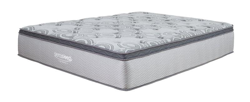 "Augusta 12"" Euro Top King Mattress - Luna Furniture"