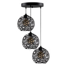 Vero S856 3-Light Cluster Geometric Pendant