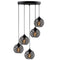 Vero S859 5-Light Cluster Geometric Pendant