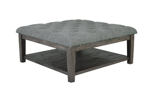 T831 Borlofield Linen Coffee Table Ottoman