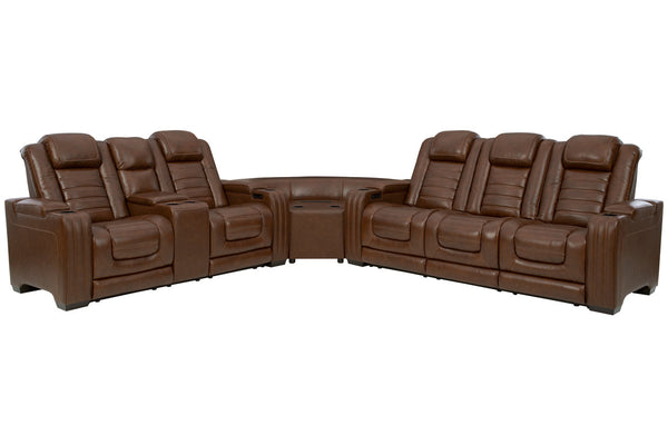 U28004 Backtrack Chocolate 3-Piece Power Reclining Sectional
