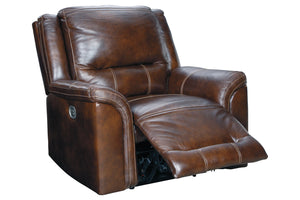 U83004 Catanzaro Mahogany Power Recliner
