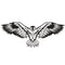 W03 - Eagle Metal Wall Decor