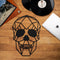 W04 - Skull Metal Wall Decor
