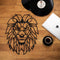 W05 - Lion Metal Wall Decor
