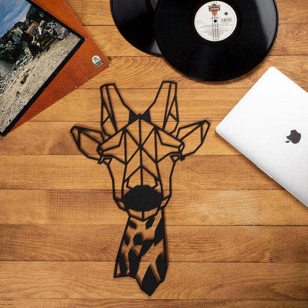 W12 - Giraffe Metal Wall Decor