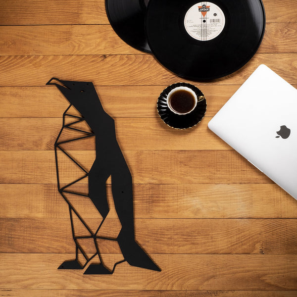 W40 - Penguin Metal Wall Decor