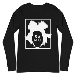 Black Unisex Long Sleeve Tee