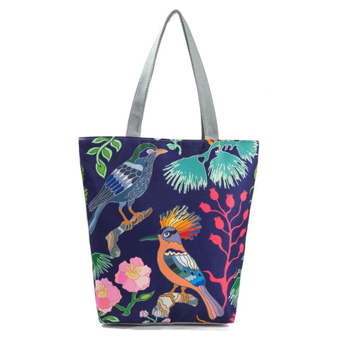 Canvas Shoulder Bag Tote Summer Beach