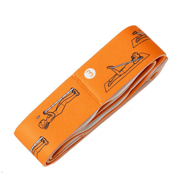 Resistance Bands Set Nylon For Yoga Exercise