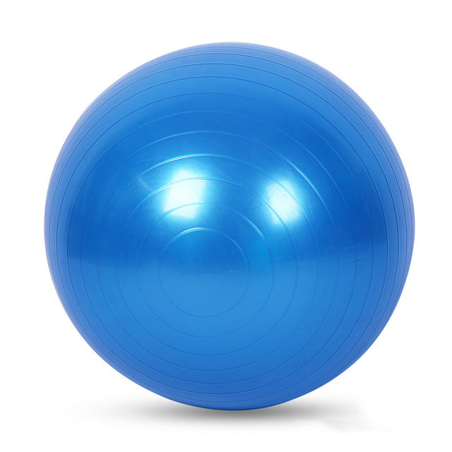 Sports Yoga Pilates Fitness Gym Balance Workout Exercise Ball 55cm 65cm 75cm without pump