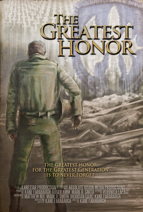 The Greatest Honor & A Golden Cross to Bear DVD Combo