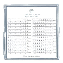 Load image into Gallery viewer, 9D Pre Made Eyelash Extension Large Tray
