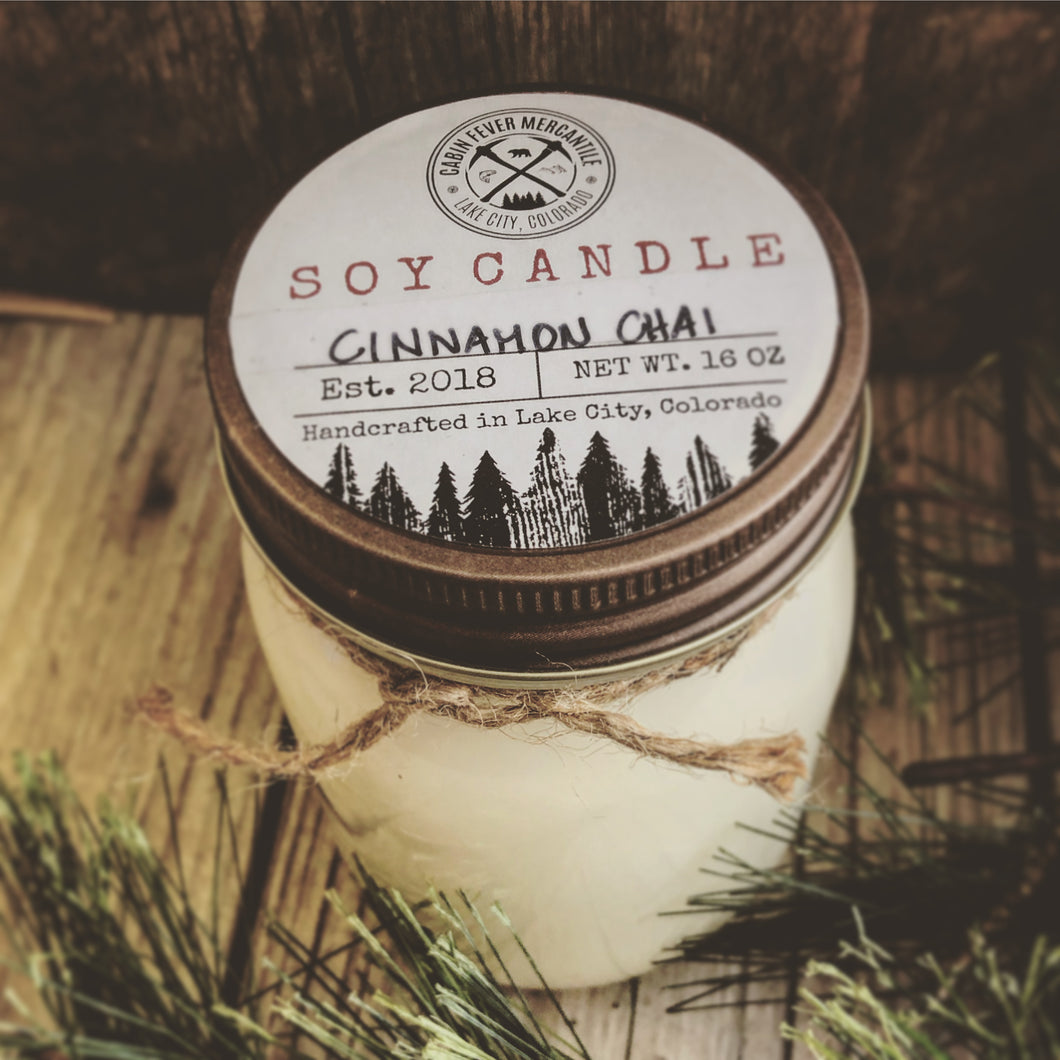 Soy Candle Cinnamon Chai