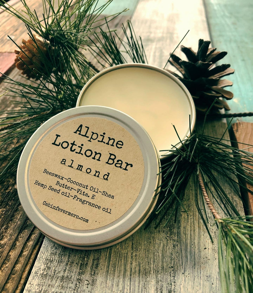 Alpine Almond Lotion Bar