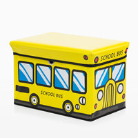 Panier à Jouets Pliable Bus Junior Knows
