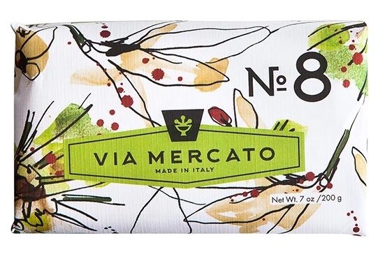 Via Mercato Soap (Clove, Vanilla Flower & Orange)