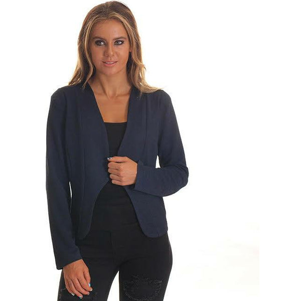 Freez Blazer Jacket- Navy