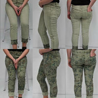 Imagine Martina Reversible Jeans Olive