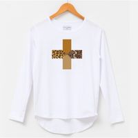 Stella+Gemma White Safari Long Sleeve