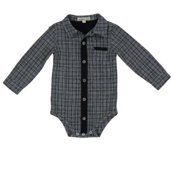 Baby boys body suit from Arthur Ave.
