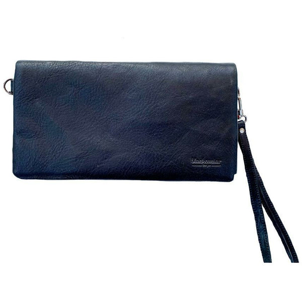Ladies crossbody bag and wallet in vegan leather