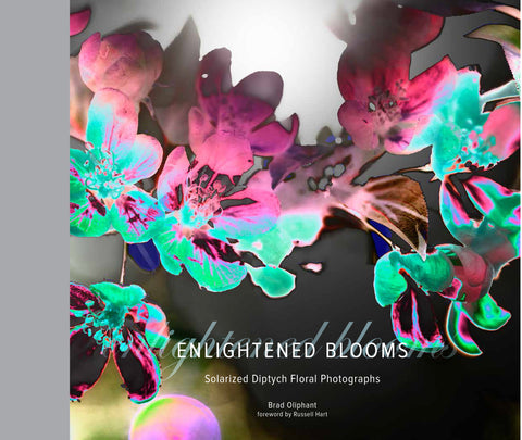 Enlightened Blooms: Solarized Diptych Floral Photographs by Brad Oliphant