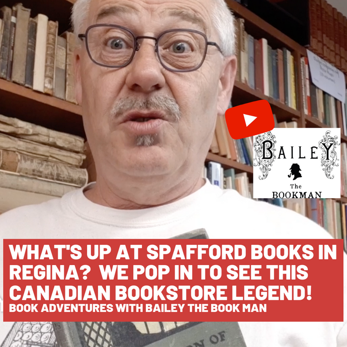 What's up at Spafford books in Regina? We pop in to see this Canadian bookstore legend!s