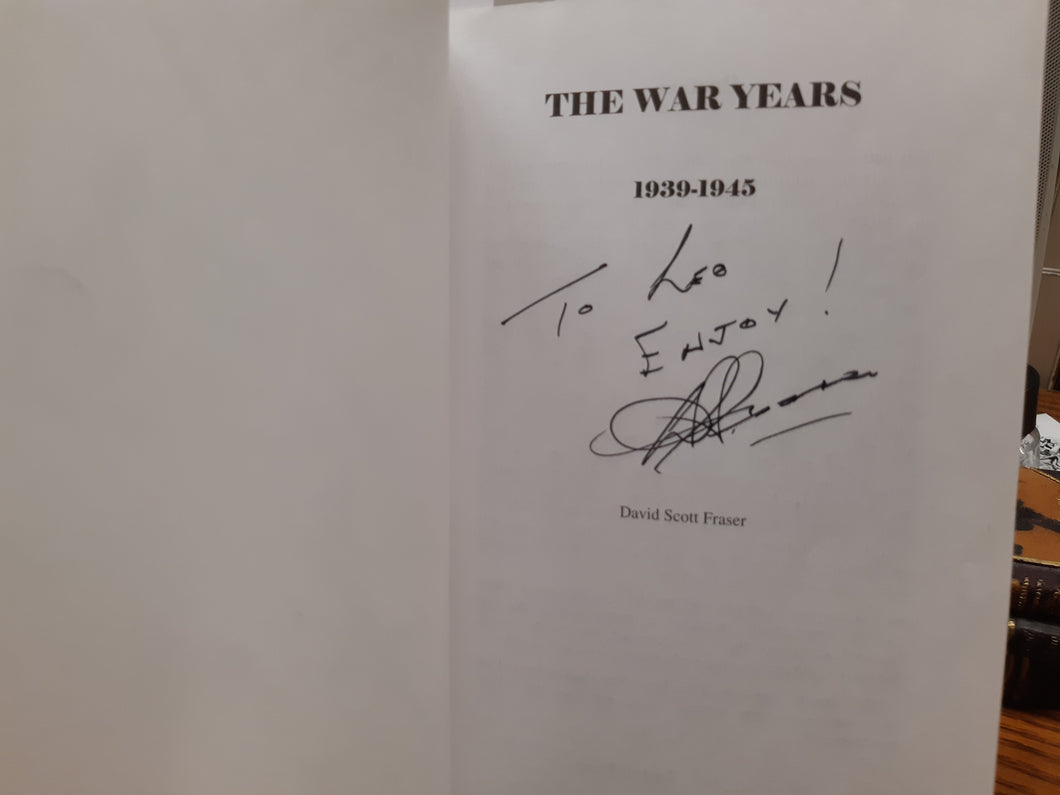 One Man's Journal The War Years Book Two by David Scott Fraser