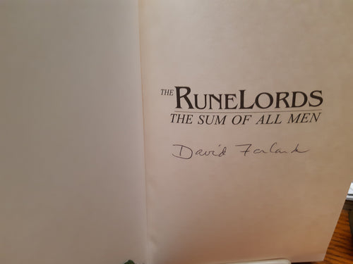 The Runelords - The Sum of All Men by David Farland