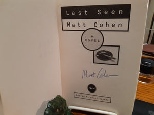 Last Seen by Matt Cohen