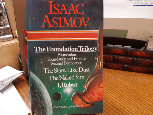 The Foundation Trilogy, The Stars LIke Dust,The Naked Sun and I Robot by Isaac Asimov