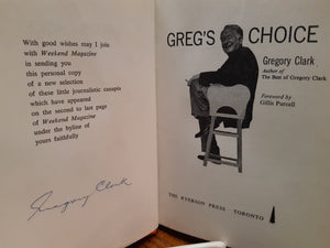 Greg's Choice by Gregory Clark