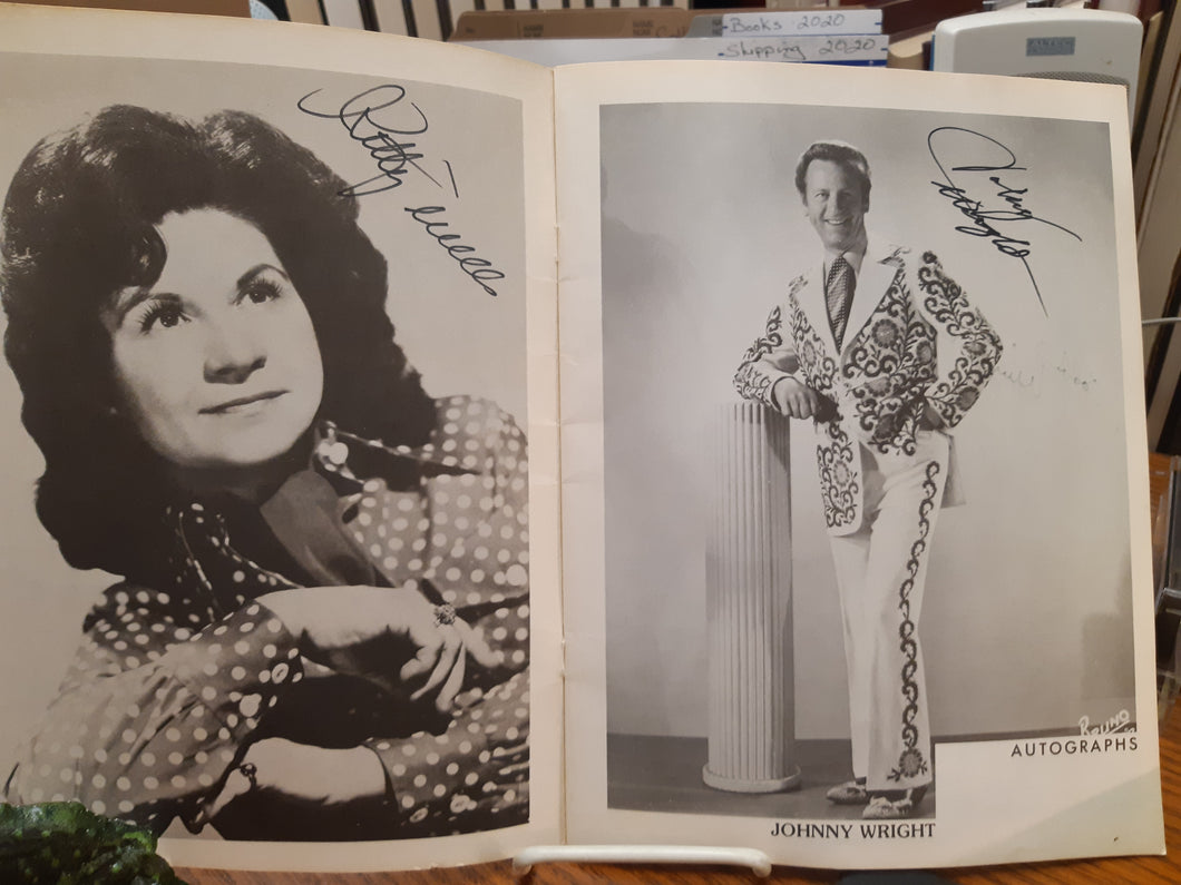 Stars of Opryland USA - signed by Kitty Wells