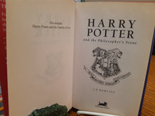 Load image into Gallery viewer, Harry Potter and the Philosopher's Stone by J. K. Rowling