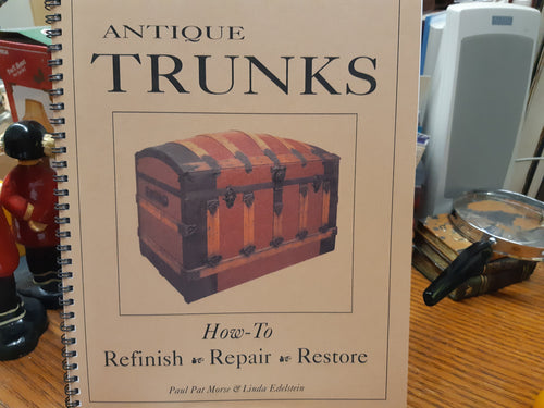Antique Trunks  Refinish Repair Restore by Morse & Edelstein