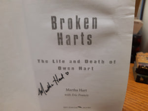 Broken Harts - The Life and Death of Owen Hart by Martha Hart