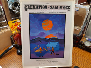 The Cremation of Sam McGee- Service and Harrison