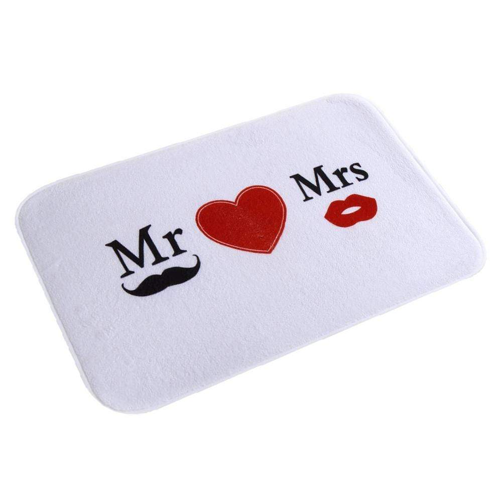 TAPIS DE BAIN DESIGN MR & MRS