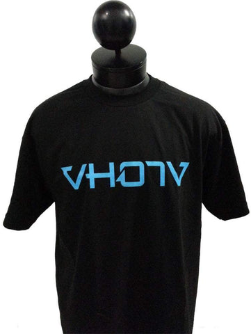 Adult Logo Tee (Black/Blue) - VH07V